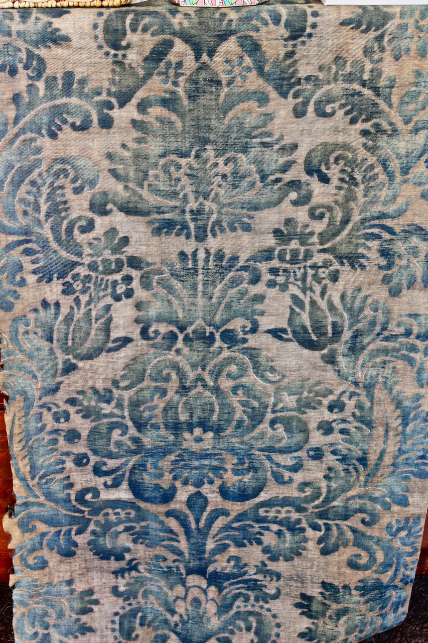 Jones And Cole The Vault Antique Fortuny Fabric