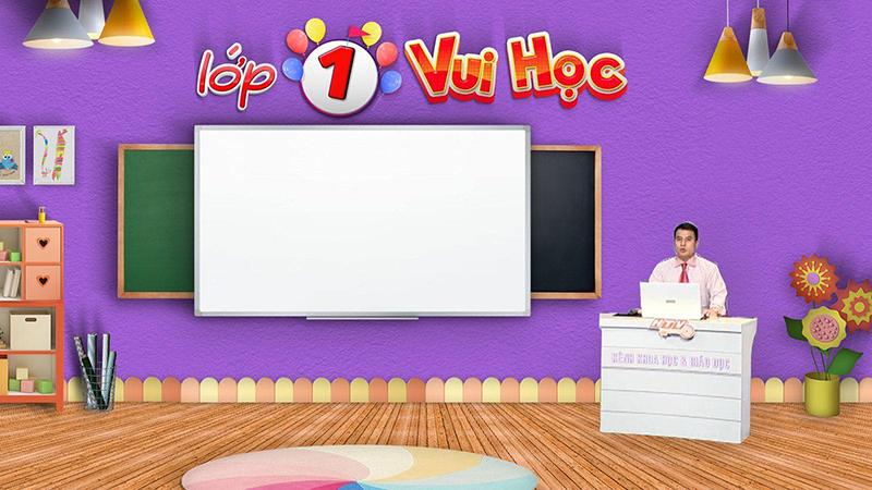 Kênh HTV Key - Học trực tuyến trên truyền hình lớp 1 và 2