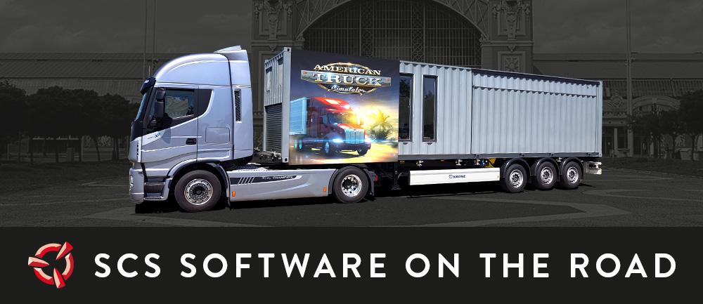 SCS Software's blog: Regarding the SCS Sim Trailer