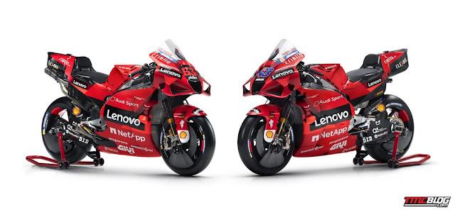 Ini Livery Motor Ducati Desmosedici Versi MotoGp 2021