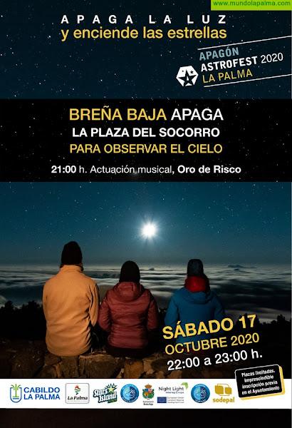 """BREÑA BAJA: Concierto de """"Oro de Risco"""" por el Día Mundial de Starlight"""