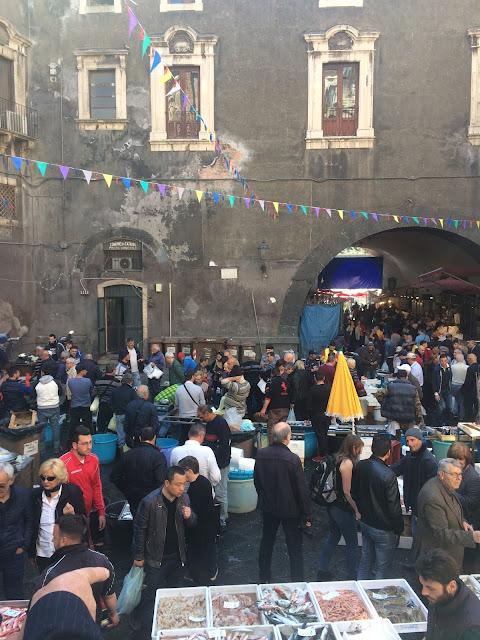 Katania, La Pescheria di Catania