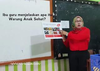 Masih Ada Harapan Baik Di ISI PIRINGKU dan Warung Anak Sehat Sekolah Bogor