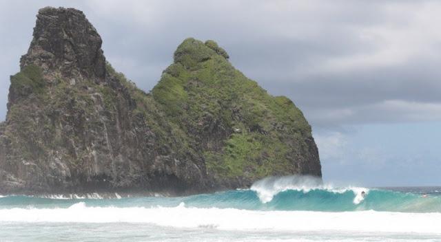Tubarão morde surfista em Fernando de Noronha