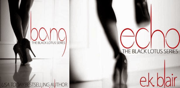 Bang by E.K. Blair the Black Lotus Series