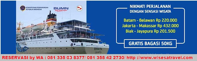 Wisesatravel Agen Tiket PELNI Di Surabaya