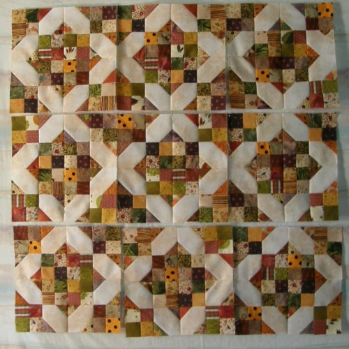 Arkansas Crossroads Quilt - Tutorial