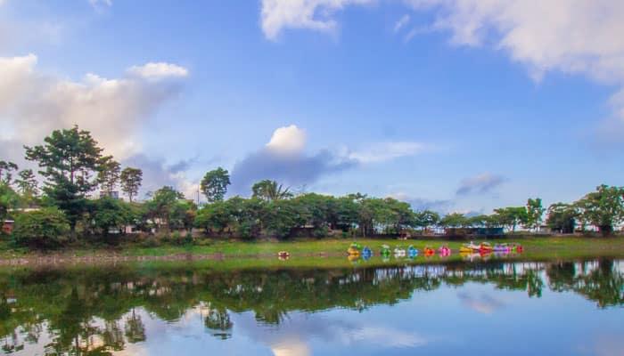 Telaga Wahyu Magetan Jawa Timur