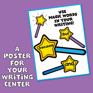 Adding Details to Writing Poster