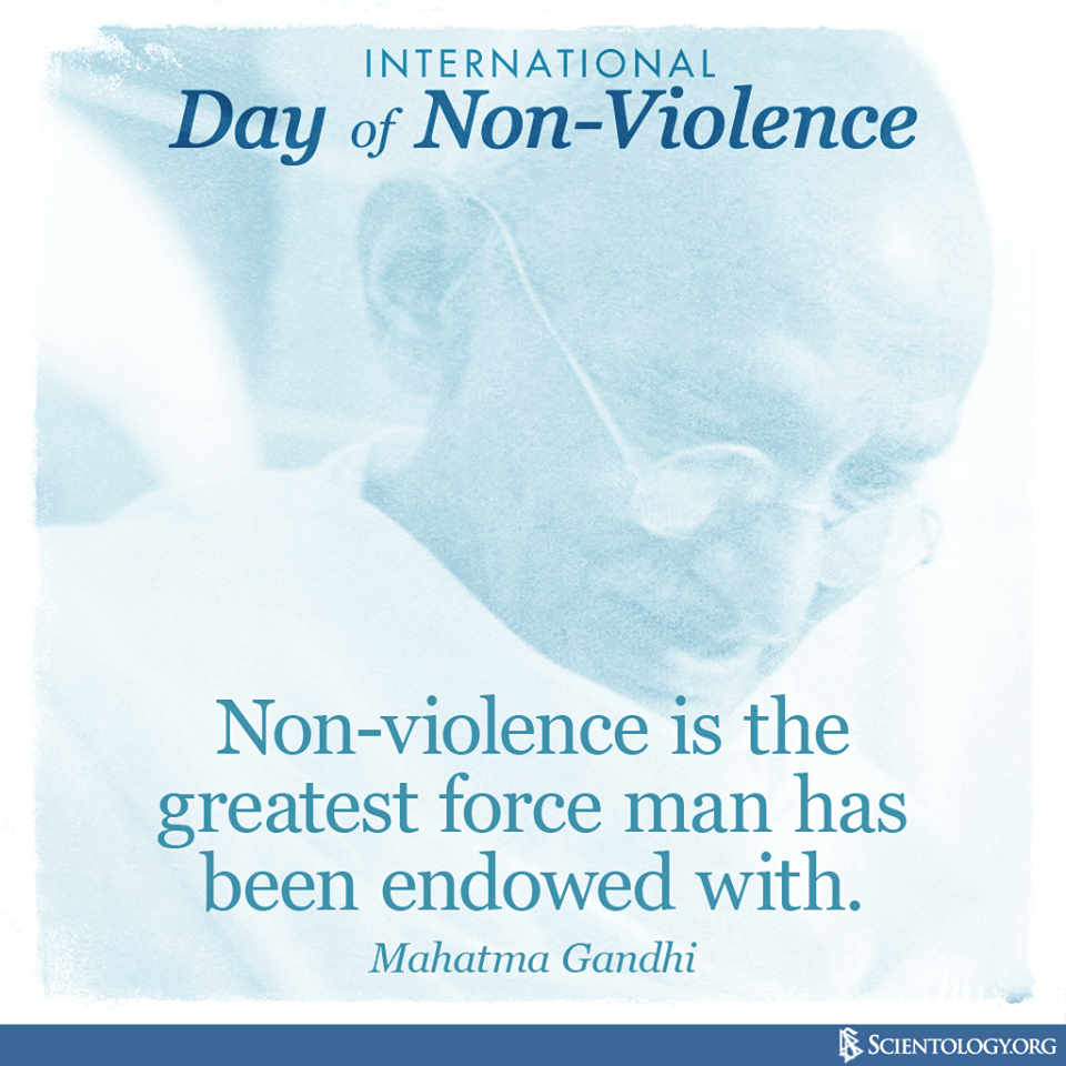 International Day of Non-Violence Wishes Pics