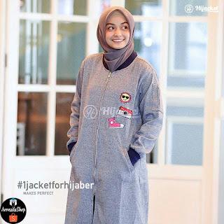 Jaket Hijab Hijacket Twistone Capri Size M L XL