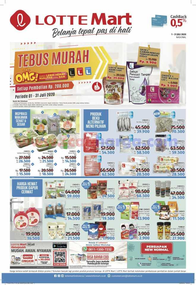 Promo Katalog Lottemart 1 - 31 Juli 2020 1