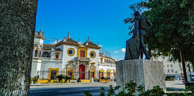 Arena de Touros de La Maestranza, em Sevilha