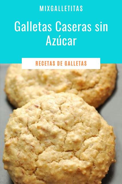 GALLETAS CASERAS SIN AZÚCAR