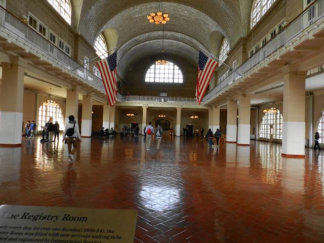 Abertura da Ellis Island em Nova York