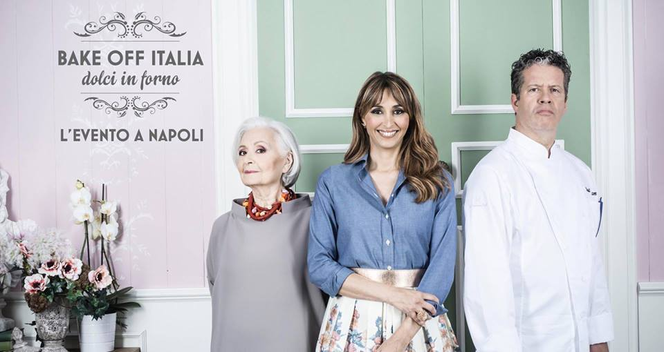 bake off italia l'evento a Napoli