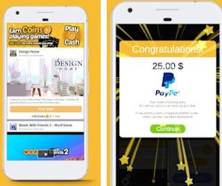 aplikasi penghasil uang di android-play cash