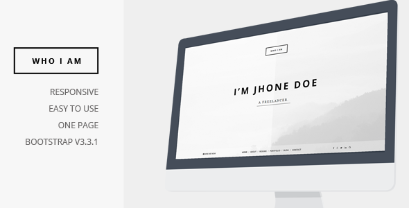 Personal Resume and Portfolio WordPress Theme