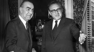 Tenso encuentro entre Carrero Blanco y Henry Kissinger