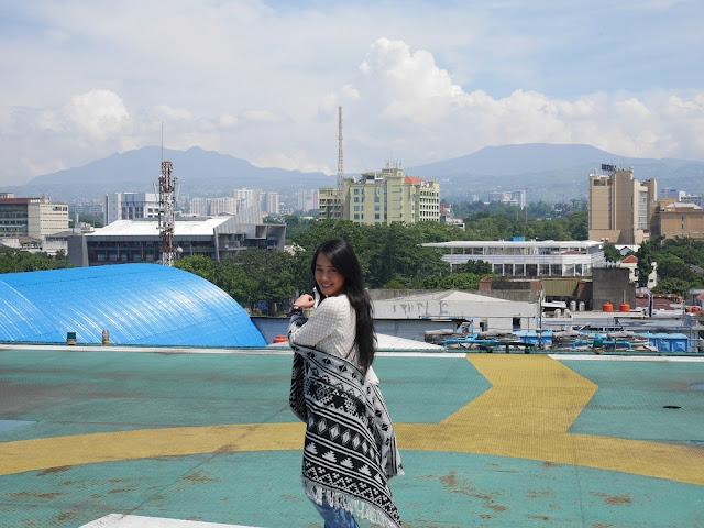 Helipad di Aryaduta Bandung