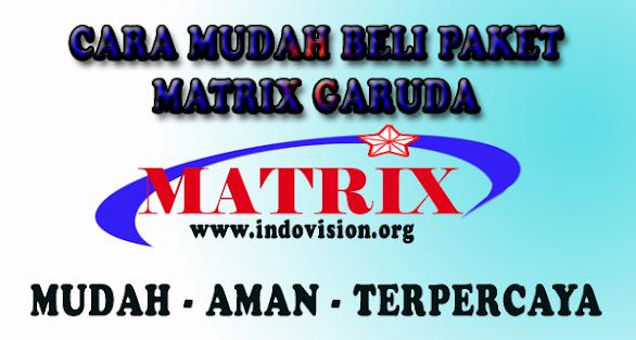 Paket dan Channel Matrix Garuda Terbaru 2020