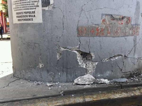 Desde hace 3 años reportaban daño en base estructural de Metro Olivos, AMLO no sirve, dicen usuarios
