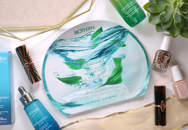 Biotherm Aquasource Aura Water Jelly Sheet Mask Review