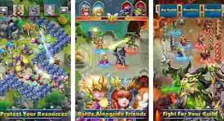 Castle Clash Game Kerajaan