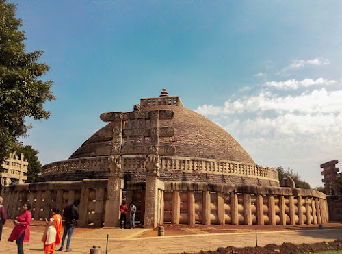 Ancient-India-Sanchi-Stupa