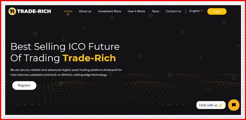[Мошеннический сайт] trade-rich.com – Отзывы, развод? Компания Trade-Rich мошенники!