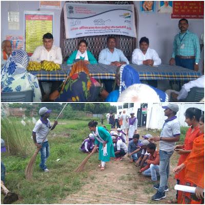 Cleanliness Service Week Program Organized Sultanpur Uttar Pradesh