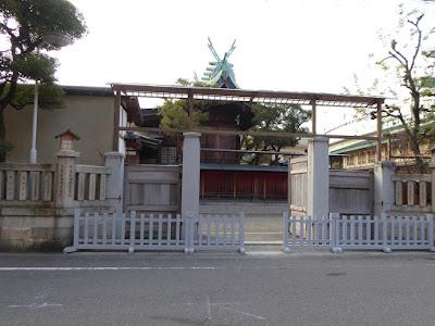 今宮戎神社 北東部にある入口