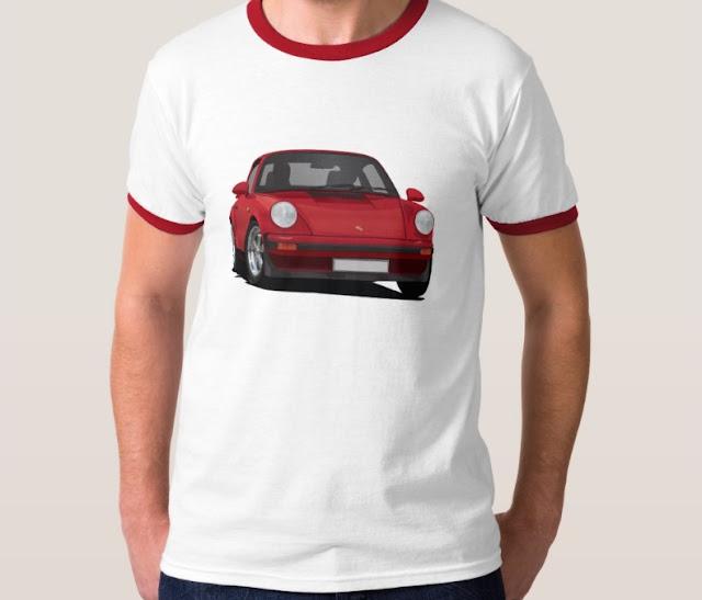 Porsche 911 sports car t-shirts