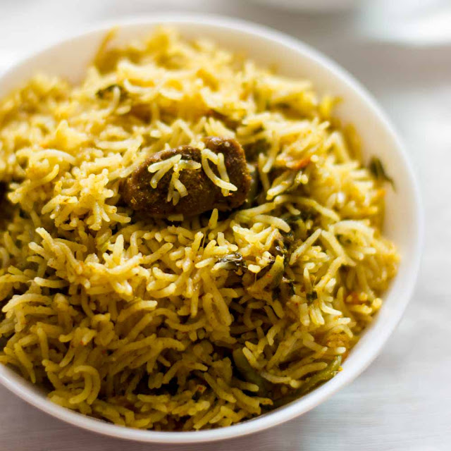 Beef Rib Briyani Rice Recipe