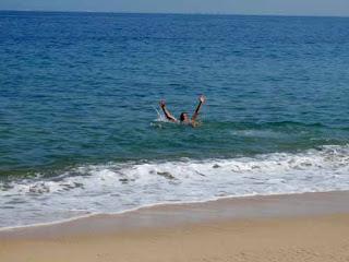 Wayne Warm Ocean Puerto Vallarta Mexico