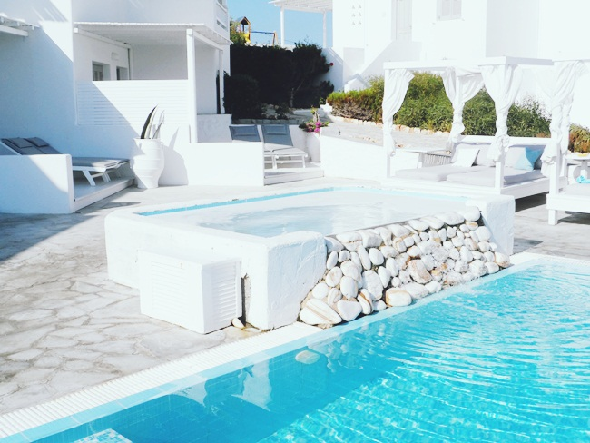 Minois village hotel suites & spa pool.Minois village hotel and spa in Paros.Where to stay in Paros.Best hotels in Paros.Hoteli na Parosu.