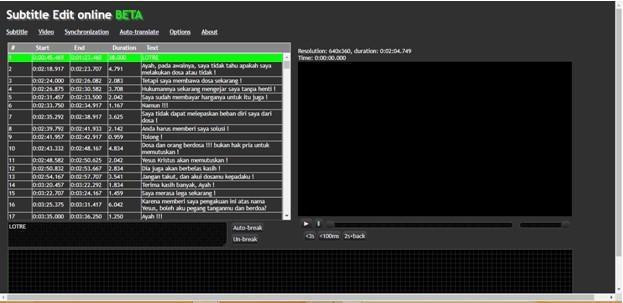 Cara Buat Subtitle Format SRT Untuk Film dan Video Sendiri