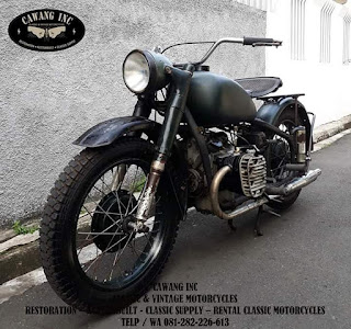 """FOR SALE !!!  """" Chang Jiang Sidevalve Type M 1M 750cc 1964 """" with original paint 👌👌👌"""