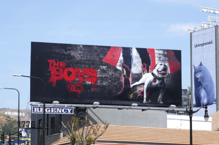 The Boys series teaser billboard