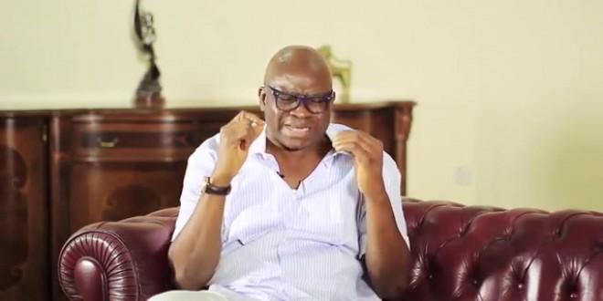 Governor Ayo Fayose, of Ekiti State