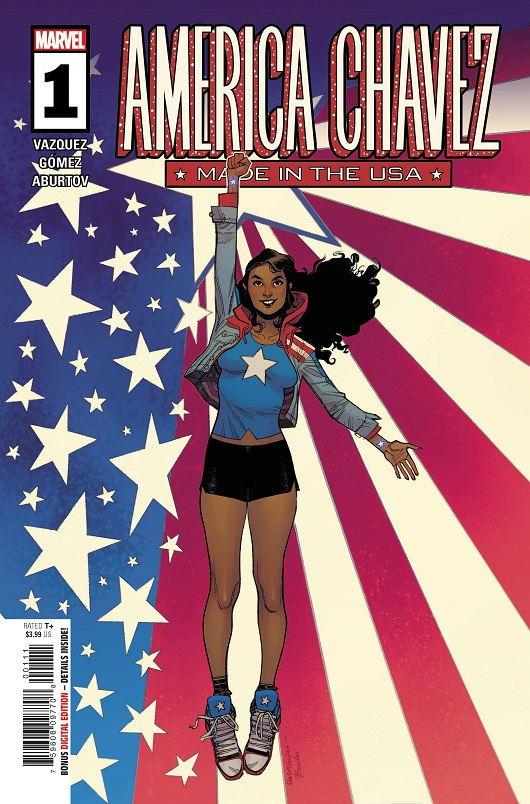 Cover of America Chavez Made in USA #1