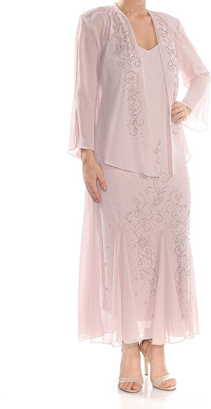 Cheap Pink Mother of The Groom Dresses