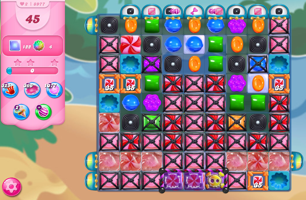 Candy Crush Saga level 8977