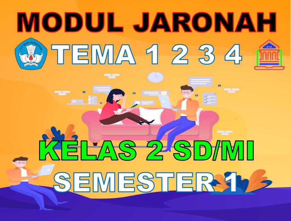 Modul BDR/PJJ/Online Kelas 2 SD/MI