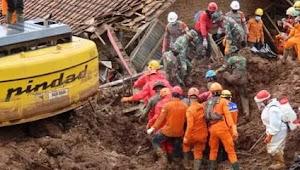 Update tertanggal 16 Januari,Ini Identitas 25 Orang Tewas Akibat kejadian Longsor Di Sumedang