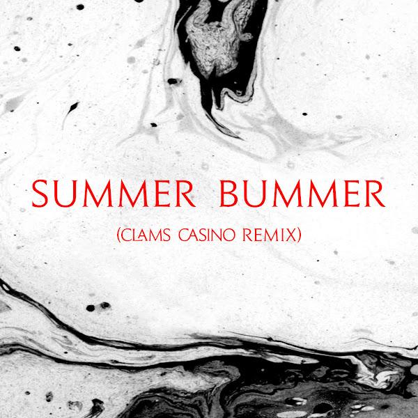 Lana Del Rey & Clams Casino - Summer Bummer (feat. A$AP Rocky & Playboi Carti) [Clams Casino Remix] - Single Cover