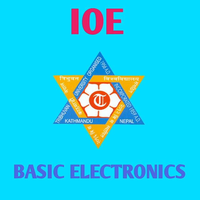 Basic electronics 2nd semester note