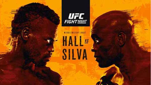 Watch UFC Fight Night 181 Hall vs Silva 10/31/2020 Full Show Online Free