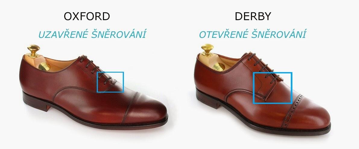 cb09028f6a11 Oproti oxfordkám mají tyto boty tzv. derbu. Jedná se o část boty