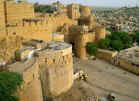 Jaisalmer-Fort-Rajasthan-tourist-place